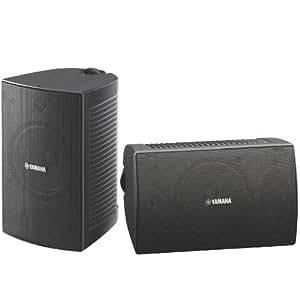 Yamaha NS-AW294 - Altavoces para el exterior de 100 W (100 W RMS, 80 Hz - 20 KHz, 8 Ohmios), negro