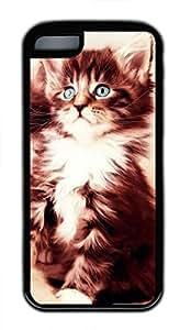 iPhone 5c case, Cute Cat 28 iPhone 5c Cover, iPhone 5c Cases, Soft Black iPhone 5c Covers