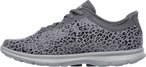 Wild Step Ankle Skechers High Sneaker Charcoal Go Women's Fashion tHqHnP7
