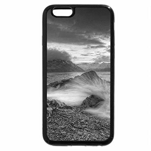iPhone 6S Plus Case, iPhone 6 Plus Case (Black & White) - Margaret bay sunset