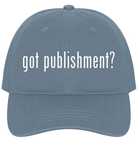 - The Town Butler got Publishment? - A Nice Comfortable Adjustable Dad Hat Cap, Light Blue