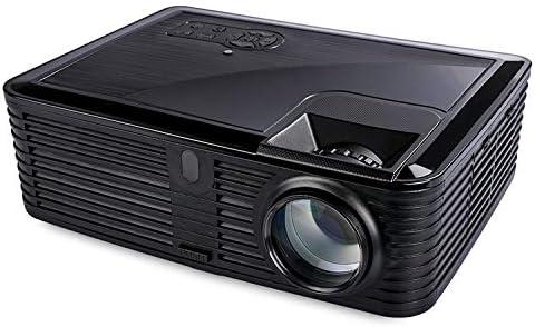 Opinión sobre Zhoutao VS768 Android 4000ANSI lúmenes Resolución 1980x1080 LED LCD Tecnología Inteligente de proyector, la Ayuda AV/HDMI/USB/VGA (Color : Black)