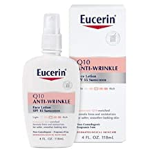 A gentle, way to reduce visibly the look of fine lines and wrinkles in as little as 5 weeks. Many anti-wrinkle lotions aren't recommended for dry, sensitive skin because they contain ingredients that can irritate. Eucerin Q10 Anti-Wrinkle Sen...