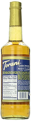 Review Torani Hazelnut Syrup, 25.35