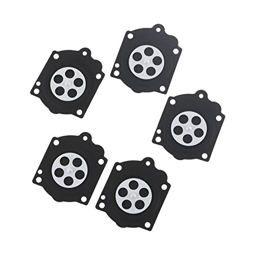 5pcs Metering Diaphragm For Walbro Hdb Wg Wb Carburetor Spare Parts McCulloch Pro Mac 610 650 605 655 And Carb Repair Kit K15 Wj