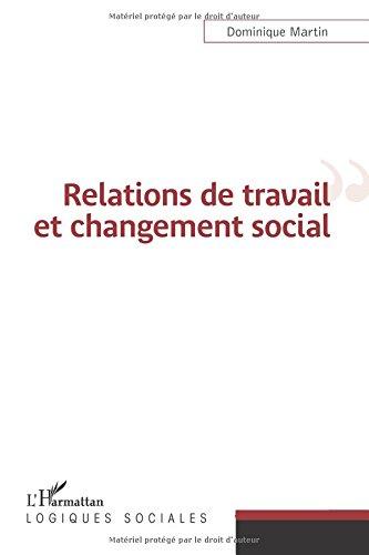 Download Relations de travail et changement social (French Edition) pdf