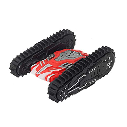 Price comparison product image Onefa Kid Toy, Wheels Flip Stunt Car Model RC Remote Control Tank Battle Stunt Car (One Size,  Red)