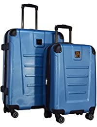 "Get Away 2-Piece Expandable Upright Luggage Spinner Set: 25"" and 20"""