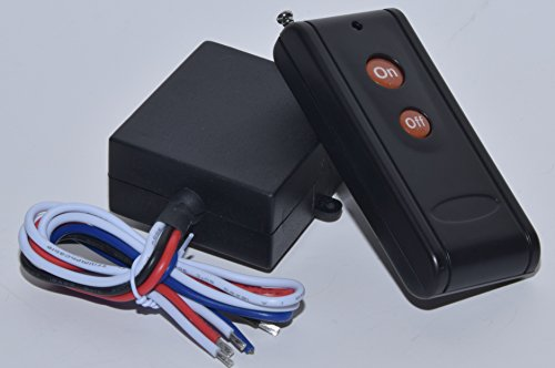 MSD 12V DC dry contact on off relay switch with long range remote control (Remote Box Relay)