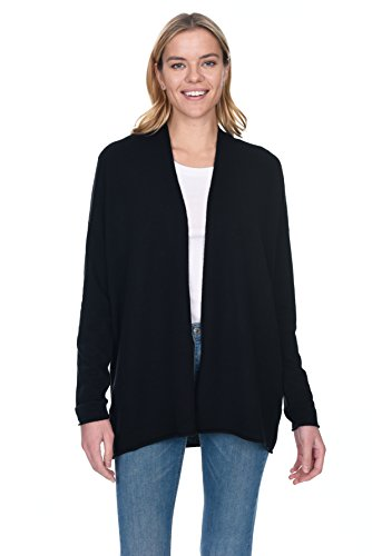 State Cashmere Women's 100% Pure Cashmere Long Sleeve Wrap Cardigan