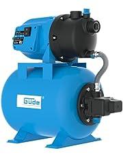 Güde 94667 HWW 3100 K huiswatersysteem, 600 W motorvermogen, 3100 l/h debiet, 24 l ketel, 1 inch IG-aansluitschroefdraad