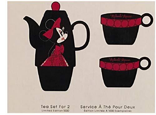 Minnie Mouse Signature Teapot/Tea Set for 2 LE D23 Expo 2017 Exclusive -