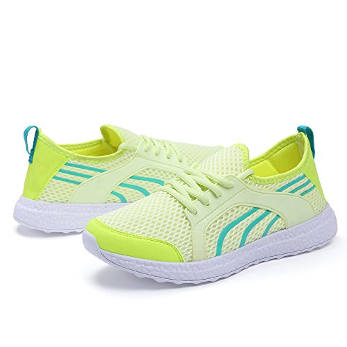 Sport Green Shoes Lightweight Casual Mxson Sneakers Ultra Mesh Breathable Walking Women's Running 6wa0PHqp