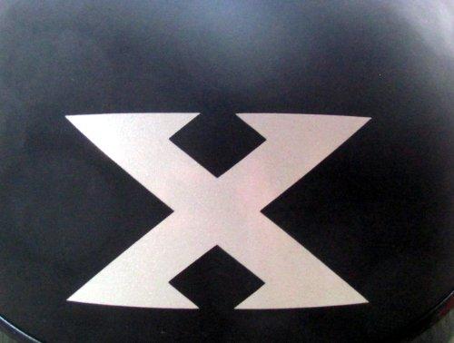 Reflective X - VTX Symbol - 3 1/8