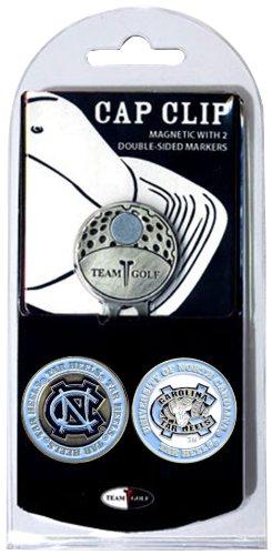 NCAA North Carolina Tar Heels Cap Clip With 2 Golf Ball Markers (North Ball Golf Tar Heels Carolina)