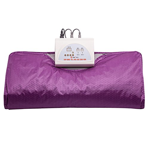 Infrared Oxfords (SPORT&SAUNA Blanket Far Infrared Large Sauna Blanket Body Shaper Weight Loss Sauna Slimming Blanket Detox Therapy Machine For Personal Spa,Purple)