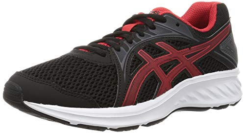 ASICS Men's Black/Classic Red Running Shoes-10 UK (45 EU) (11 US) (1011A167) Price & Reviews