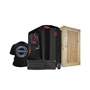 Origin PC MILLENNIUM-BLKi7-7700K 1080Ti Z270Gam5 Tower Desktop, Black