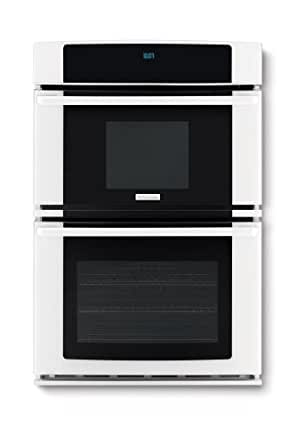 """Electrolux EW27MC65JWWave-Touch 27"""" White Electric Combination Wall Oven - Convection"""