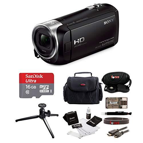 Sony HD Video Recording HDRCX405 Handycam Camcorder Black Kit