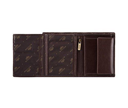 Orientierung Brieftasche Vertikal 21 Größe 1 11x13 Farbe Kollektion Material Wittchen 4 Italy Narbenleder 221 CM Braun HRqqf