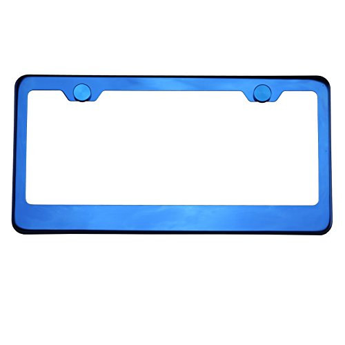 bmw blue license plate frame - 9