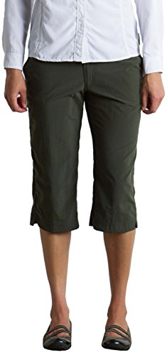 Hiking Ex Shorts Officio (ExOfficio Women's Sol Cool Nomad Dig'r Lightweight Capri, Nordic, 12)