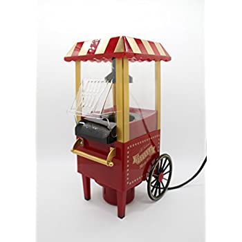 Amazon.com: Nostalgia OFP-501 Old Fashioned Popcorn Machine ...