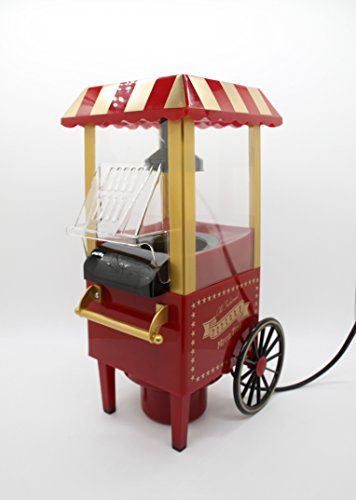FixtureDisplays Mini Carriage Shape Hot Sell Popcorn Maker Popcorn Machine 15914 (Best Popcorn Maker Canada)