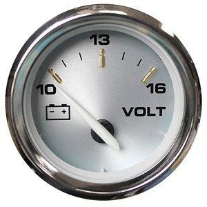 Faria Beede Instruments 19004 2 in. Kronos Voltmeter 10-16 VDC by Faria Beede Instruments ()