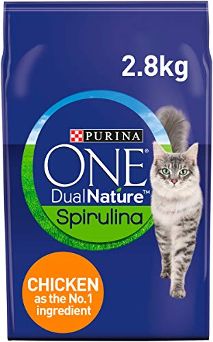 Purina ONE Dual Nature Adult Cat Food Chicken 2.8kg – Case of 4 (11.2kg)