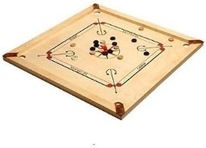 Asmodee CBM2 Carrom Mango - Juego de estrategia (83 cm): Amazon.es: Juguetes y juegos