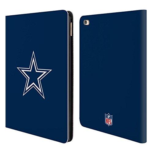 Official NFL Plain Dallas Cowboys Logo Leather Book Wallet Case Cover For Apple iPad Air - Air Port Dallas