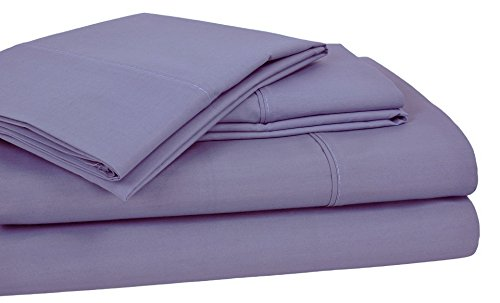 Elite Home Products 250SSKG499HMESO T25O Home Styles Solid C/R Sheet Set Blue,King,Lavender,King