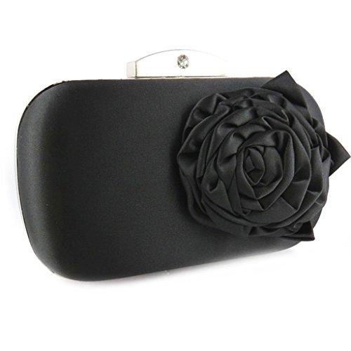 Scarlett'negro bolso de la bolsa.