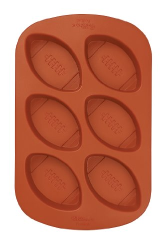 Wilton Mini Football Silicone Mold- Discontinued By Manufacturer