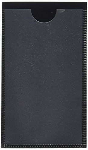 - Panter Company MAG-LH-BK Magnetic Label Holders, 4-1/4 x 2-1/2, Black, 10/Pack