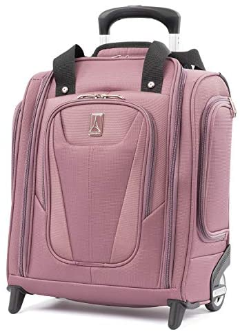 Travelpro Maxlite 5-Rolling Underseat Compact Carry-On Bag, Dusty Rose, 15-Inch
