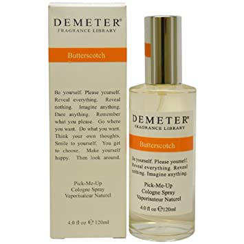 Demeter Butterscotch Cologne Spray for Women, 4 Ounce