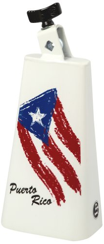 Latin Percussion LP205-PR2 Heritage Custom 8-Inch Mountable Cowbell - Puerto (Custom Cowbell)