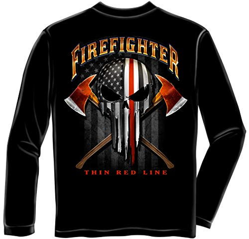 Erazor Bits Firefighters Corp Shirts   American Pride Firefighter Long SleeveFF2396LSL