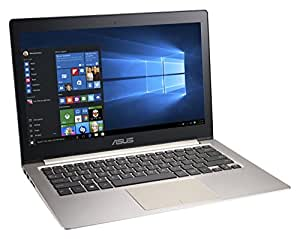 "ASUS Zenbook UX303LA-C4145H - Portátil táctil de 13.3"" (Intel Core i5 4210U, 6 GB de RAM, 500 GB HDD, 8 GB SDD, Intel HD, Windows 8.1 ), negro -Teclado QWERTY Español (retro iluminado)"