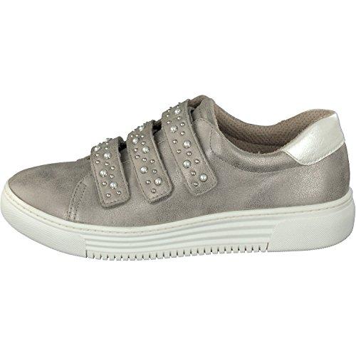 Relife Damenschuhe Sneaker Schoenen 8067-18707-02 Klittenband In 2 Kleuren Rook