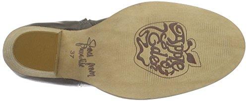 Apple of Eden Women's Conga Ankle Riding Boots Grey (Dk Grey) NAhJ09
