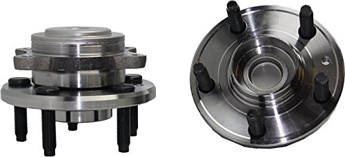 - FWD -Detroit Axle - Brand New (Both) REAR Wheel Hub and Bearing Assembly for 2005-2009 Five Hundred, Freestyle, Sable, Taurus FWD Only 5 Lug W/ABS (Pair) FWD 512299 x2
