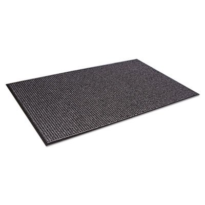 Oxford Wiper Mat, 48 x 72, Black/Gray, Sold as 1 Each