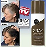 Gray Away Root Concealer Gray Away Root Concealer- Black To Deep Medium Brown