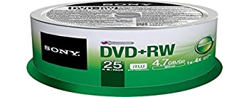 Sony 25dpw47sp Dvd+rw 4x 4.7gb Spindle Rewritable Dvd, 25-pack 2