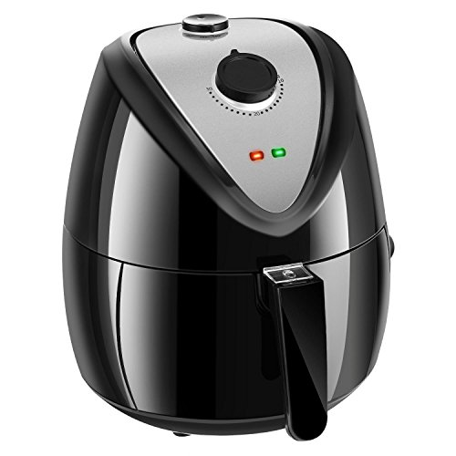Electric Air Fryer For Healthy Oil Free Cooking with 80% Less Fat, 4.5L 4.8Quart 1400W Barbecue Non-Oil Smoke Home Kitchen Favor with Timer & Temperature Controls