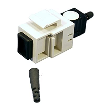Leviton MT-RJ Fiber Optic Jack Connector Spectro-Link Workstation 49888-5SW